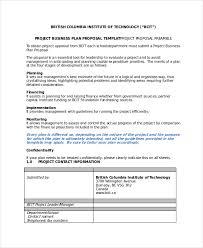 proposal sample doc business project proposal scheme template