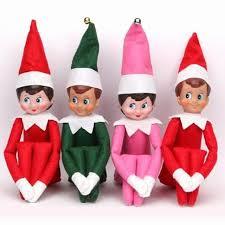 on the shelf doll 37cm christmas doll on the shelf christmas plush