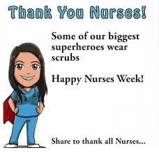 Happy Nurses Week Meme - thaok yog norses some of our biggest superheroes wear scrubs happy