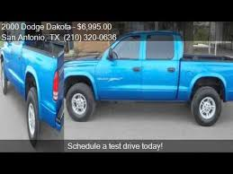 dodge dakota crew cab 4x4 for sale 2000 dodge dakota cab sport 4wd for sale in san antonio