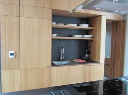 countertops kitchen storage highly regarded open shelves bamboo kitchen storage highly regarded open shelves bamboo cabinets with undermount sink as well black countertop island decorate in modern apartment furnishing