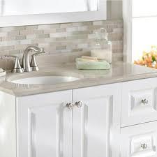 Glacier Bay Bathroom Cabinets Glacier Bay Lancaster 24 In W X 19 In D Bath Vanity In White