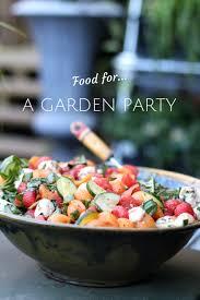 Summer Garden Party Ideas - simple foods for a summer garden party paperblog