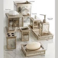 mirrored bathroom accessories palazzo antique mirrored bath accessories