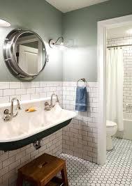 recessed porthole medicine cabinet porthole medicine cabinet green grey bathroom traditional with