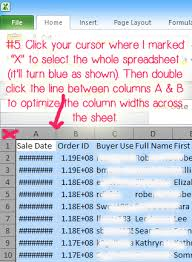 Etsy Spreadsheet An Easy By Guide To Downloading Analyzing Your Etsy