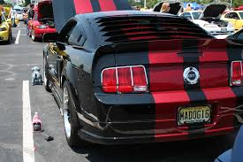 Mustang Red And Black Black Red Ford Mustang Gt