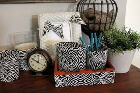 Zebra Desk Accessories Zebra Desk Accessories With Duck The Creek Line House