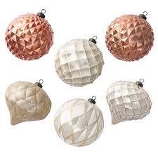 jumbo shatterproof ornaments gold 6 count sam s club