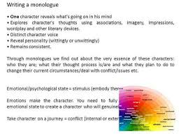 Examples Of Interior Monologue Writing A Monologue In Prose An Interior Monologue Is Where One
