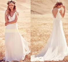 bohemian wedding dress lace western country wedding dress bohemian wedding dress