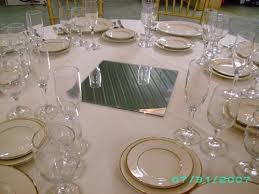 10 Inch Mirror Centerpiece by The Canopeum Our Tents Cover Your Events
