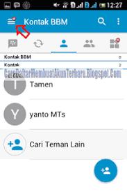 membuat akun gmail bbm silahkan simak contoh daftar bbm android yang ada disini pake email