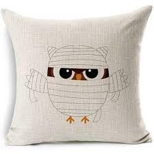 Burlap Decorative Pillows Halloween Throw Pillows Page One Halloween Wikii