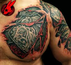 ripped skin tattoos archives 3d tattoos