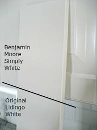 benjamin moore simply white matches ikea cabinet paint kitchen
