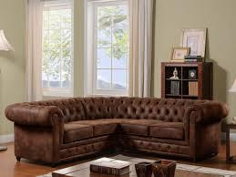 canap d angle cuir vieilli canape d angle microfibre aspect cuir vieilli canapé idées de