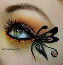 butterfly created by krissii on makeup painting for