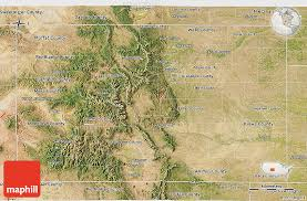 colorado physical map satellite 3d map of colorado