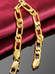 gold plated bracelet chain images Chain pattern gold plated jpg