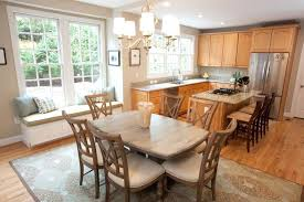 kitchen table or island fascinating eat in kitchen table boldventure info