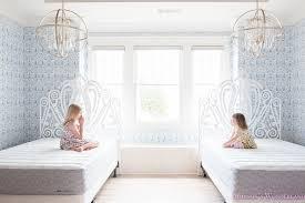 gel foam bed mattress hygge and west nethercote blue wallpaper