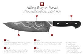 Zwilling Kitchen Knives Zwilling J A Henckels Mungsten Damast Limited Edition Damascus