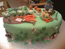 Birthday Cake Decoration Ideas At Home Funky Garden Decor Gardening Cake By Mrs Bonbon Cake