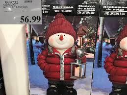 Costco Lighted Snowman by Costco West Fall Seasonal Items Costco West Fan Blog