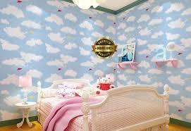wallpaper sticker rdws081 awan rumah stiker rumah stiker