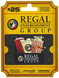 gift card manufacturers a meal brinker regal entertainment 2 25