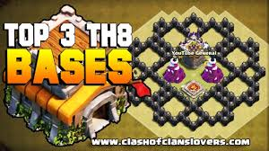 coc layout builder th8 top 3 undefeated th8 war base 2017 anti 3 star replay proofs