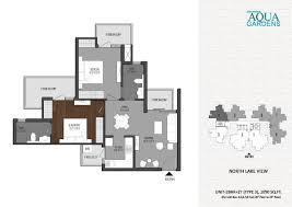 Garden Floor Plan Floor Plan Aqua Garden Greater Noida West Shrigroupaquagardens Com