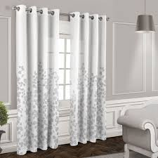 Linen Drapes 108 Window Treatments Great Inspiration 108 Inch White Curtains 108