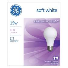 ge helical light bulbs ge 15 watt a15 incandescent light bulb 2 pack soft white target