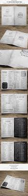 pages menu template 25 beautiful vintage menu ideas on food menu design