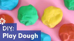 how to make play dough easy no cook recipe sea lemon youtube