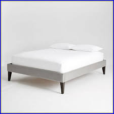 Bed Frame No Headboard Inspiring Bed Frame Without Headboard Upholstered Bed Frame