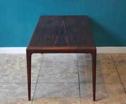 vintage rosewood coffee table by johannes andersen produced by