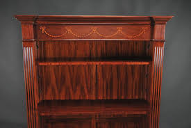 Shelves With Glass Doors by Mahogany Bookcase With Glass Doors U2014 Bookcase Ideas