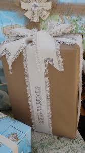 vintage beach house gift wrap a go go