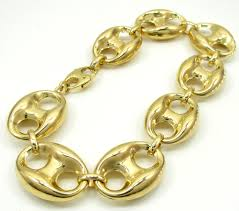 chain link bracelet gold images 10k yellow gold gucci link bracelet 9 25 inch 18 80mm jpg