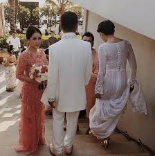 wedding dress di bali rafathar raffi gigi on prepare resepsi rans di bali w