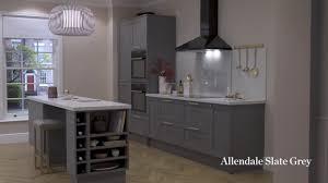 navy blue kitchen cabinets howdens allendale slate grey shaker style kitchen