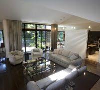 Vaulted Ceiling Open Floor Plans Sala Cocina Comedor Juntos Pequeos Living Room Contemporary With
