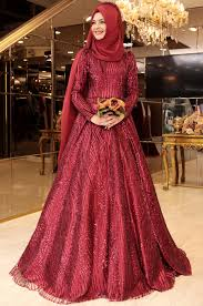 pinar sems şems setre evening dress burgundy