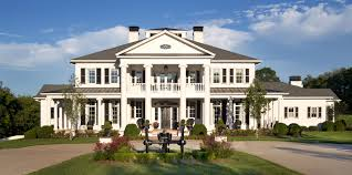 Modern Plantation Homes You Must See This 12 000 Sq Foot Greek Revival Home In Leiper U0027s Fork