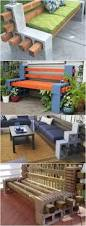 how to make a bench from cinder blocks 10 amazing ideas