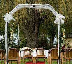 wedding arches using tulle wedding arches you ll want to say i do right now