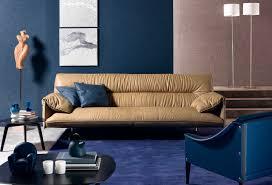 canap contemporain poltrona frau canapé contemporain en cuir par jean massaud 2 places